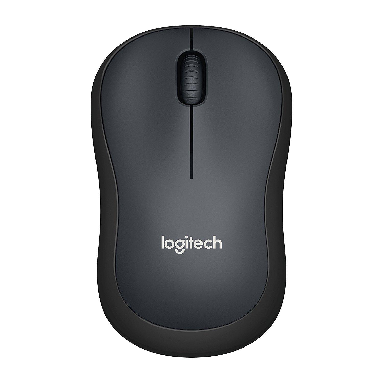 Безжична оптична мишка LOGITECH M220 Silent, Черна, USB